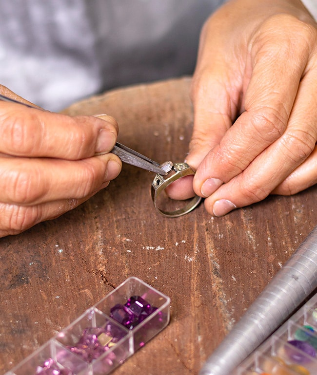 Jewelry Repairs at Dylan Rings